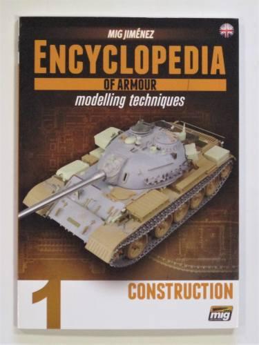 CHEAP BOOKS  ZB3609 MIG JIMENEZ ENCYCLOPEDIA OF ARMOUR MODELLING TECHNIQUES 1 CONSTRUCTION