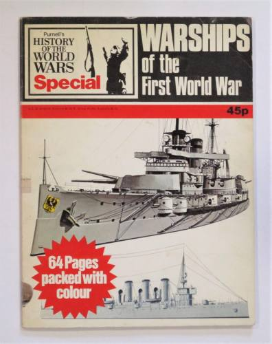 CHEAP BOOKS  ZB3616 PURNELLS HISTORY OF THE WORLD WARS SPECIAL WARSHIPS OF THE FIRST WORLD WAR