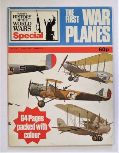 CHEAP BOOKS  ZB3617 PURNELLS HISTORY OF THE WORLD WARS SPECIAL THE FIRST WAR PLANES