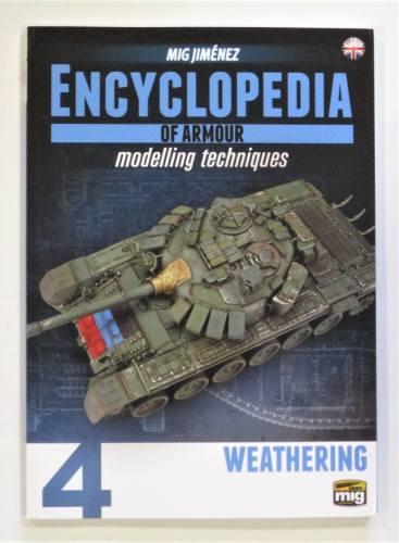 CHEAP BOOKS  ZB3619 MIG JIMENEZ ENCYCLOPEDIA OF ARMOUR MODELLING TECHNIQUES 4 WEATHERING