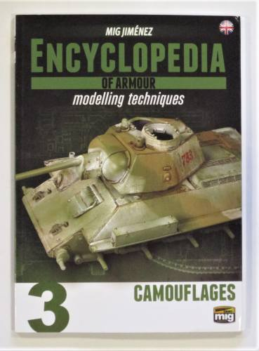CHEAP BOOKS  ZB3620 MIG JIMENEZ ENCYCLOPEDIA OF ARMOUR MODELLING TECHNIQUES 3 CAMOUFLAGES
