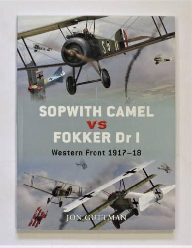 CHEAP BOOKS  ZB3644 OSPREY DUEL NO 7 SOPWITH CAMEL VS FOKKER DR I - JON GUTTMAN