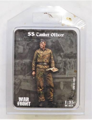 WAR FRONT 1/35 35001 SS TANKER OFFICER