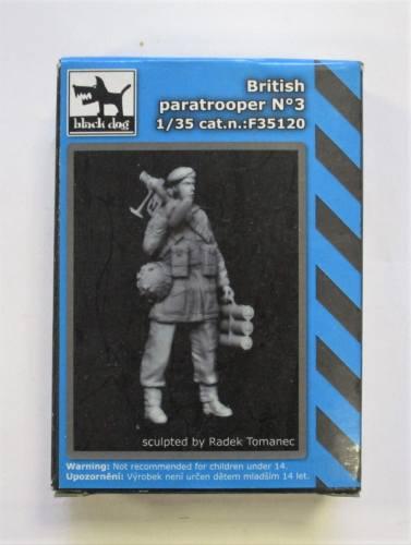 BLACK DOG 1/35 35120 BRITISH PARATROOPER  3