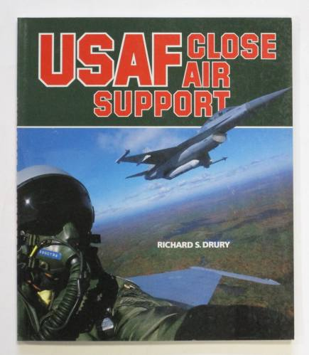 CHEAP BOOKS  ZB3673 USAF CLOSE AIR SUPPORT - RICHARD S.DRURY