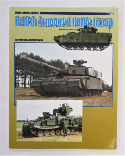 CHEAP BOOKS  ZB3723 BRITISH ARMOURED BATTLE GROUP CONCORD MINI COLOR SERIES 7520 - TIM MATZOLD