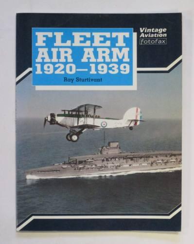CHEAP BOOKS  ZB3729 FLEET AIR ARM 1920-1939 RAY STURTIVANT