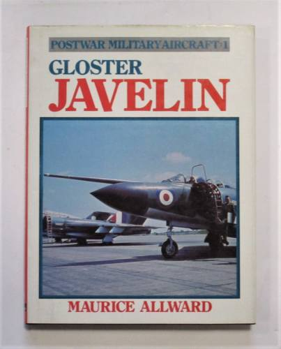 CHEAP BOOKS  ZB3693 GLOSTER JAVELIN maurice allward