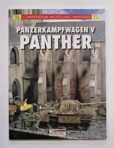 CHEAP BOOKS  ZB3695 22 COMPENDIUM MODELLING MANUALS PANZERKAMPFWAGEN V PANTHER
