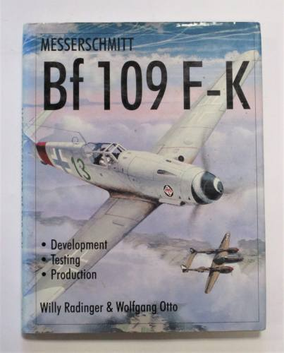 CHEAP BOOKS  ZB3703 MESSERSCHMITT BF 109 F-K - WILLY RADINGER