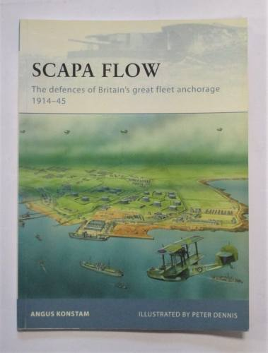 CHEAP BOOKS  ZB3705 SCAPA FLOW - ANGUS KONSTAM