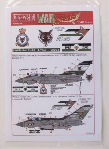 KITS WORLD 1/48 2816. 148146 WAR BIRDS LEADS THE FIELDS 1915-2014