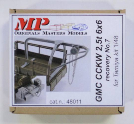 MP 1/48 48011 GMC CCKW 2.5T 6X6 RECOVERY NO.7 FOR TAMIYA