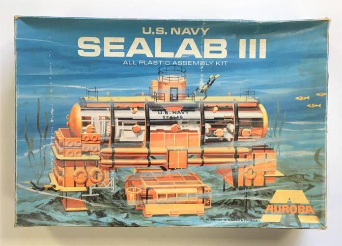 AURORA  721-500 U.S. NAVY SEALAB III