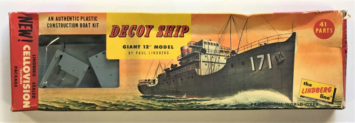LINDBERG  75549 DECOY SHIP 12 INCH
