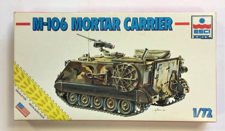 ESCI 1/72 8337 M-106 MORTAR CARRIER