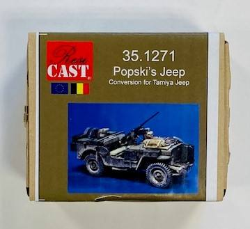 RESICAST 1/35 35.1271 POPSKIS JEEP CONVERSION FOR TAMIYA JEEP