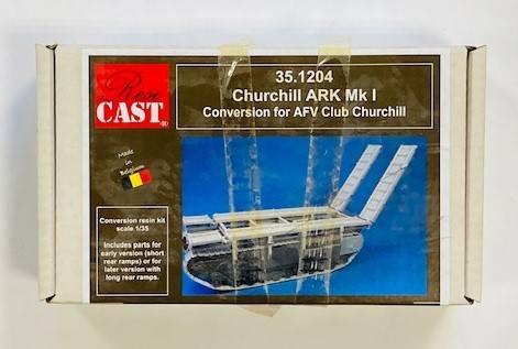 RESICAST 1/35 35.1204 CHURCHILL ARK MK I CONVERSION FOR AFV CLUB CHURCHILL