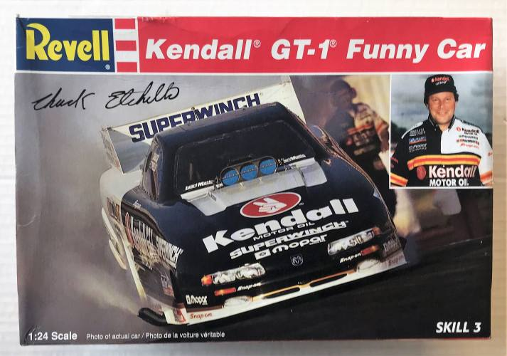 REVELL 1/24 7604 KENDALL GT-1 FUNNY CAR