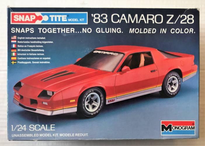 MONOGRAM 1/24 1404 1983 CAMARO Z/28