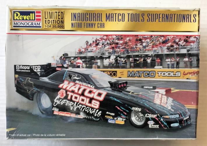 REVELL 1/24 0540 INAUGURAL MATCO TOOLS SUPERNATIONALS NITRO FUNNY CAR