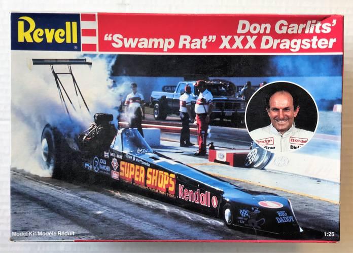 REVELL 1/25 7152 DON GARLITS SWAMP RAT XXX DRAGSTER