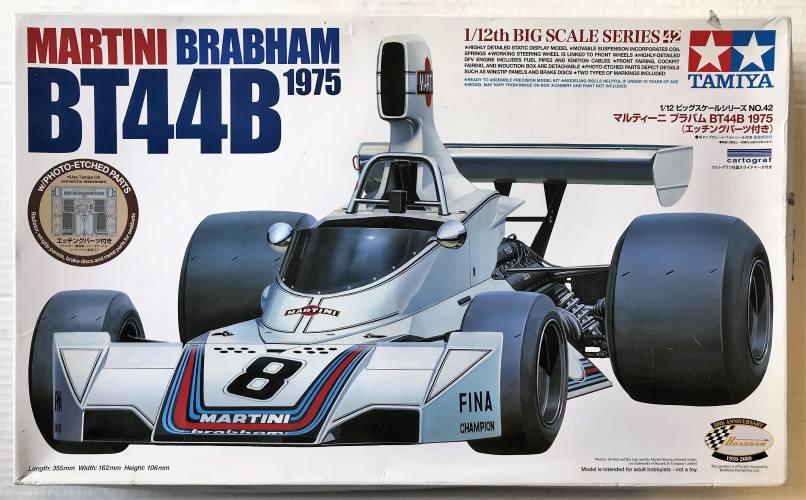 TAMIYA 1/12 12042 MARTINI BRABHAM BT44B 1975