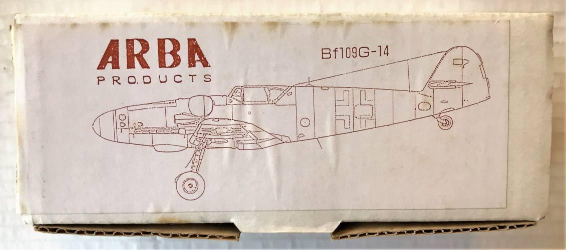 ARBA  MESSERSCHMITT BF109G-14