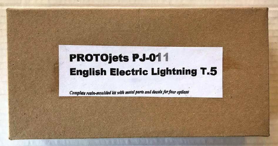 PROTOJETS  PJ-011 ENGLISH ELECTRIC LIGHTNING T.5
