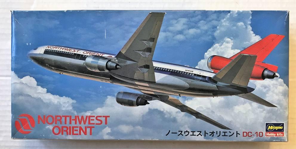 HASEGAWA 1/200 LL4 NORTHWEST ORIENT DC-10