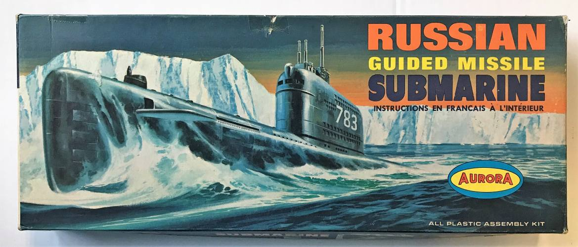 AURORA  726 RUSSIAN GUIDED MISSILE SUBMARINE