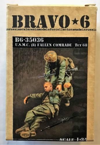 BRAVO 6 1/35 35036 U.S.M.C.  8  FALLEN COMRADE TET  68