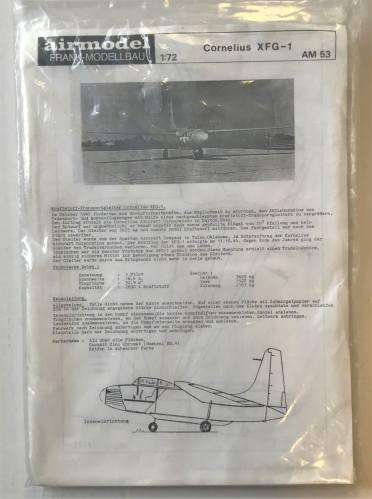 AIRMODEL 1/72 53 CORNELIUS XFG-1