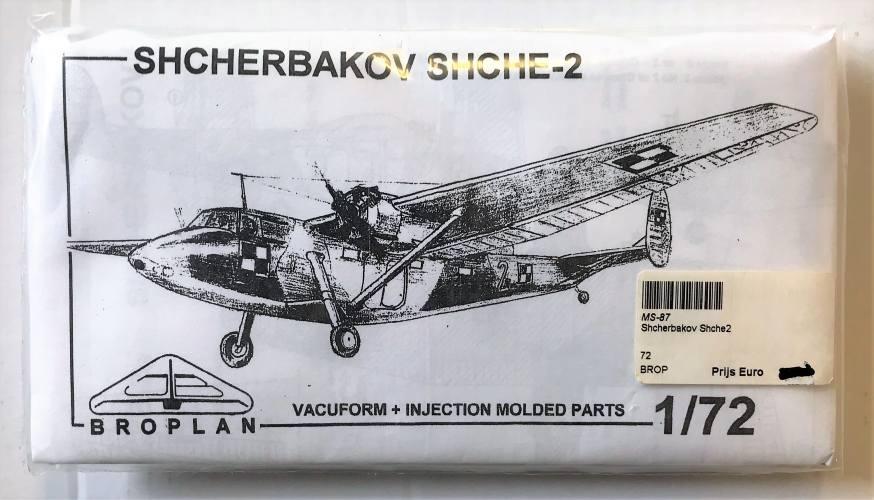 BROPLAN 1/72 SHCHERBAKOV SHCHE-2