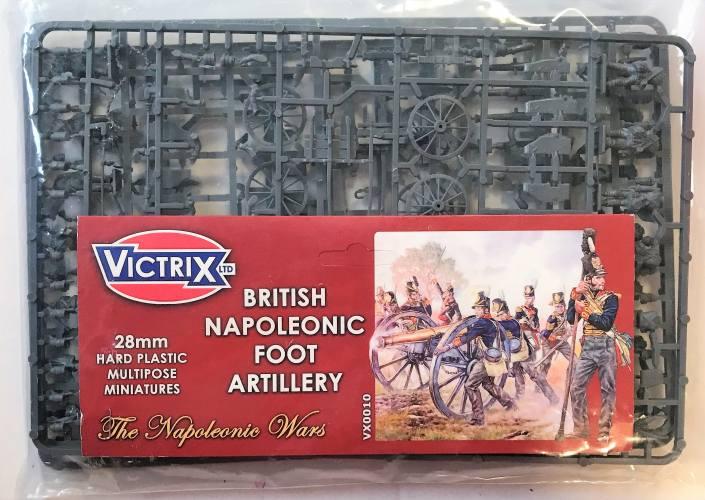 VICTRIX 28MM 0010 BRITISH NAPOLEONIC FOOT ARTILLERY