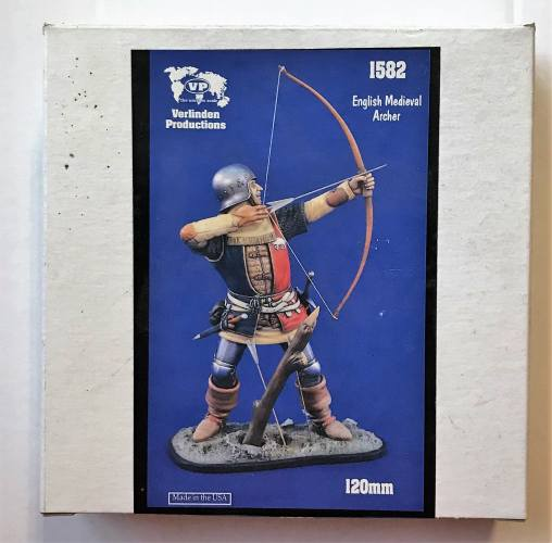 VERLINDEN PRODUCTIONS 120MM 1582 ENGLISH MEDIEVAL ARCHER