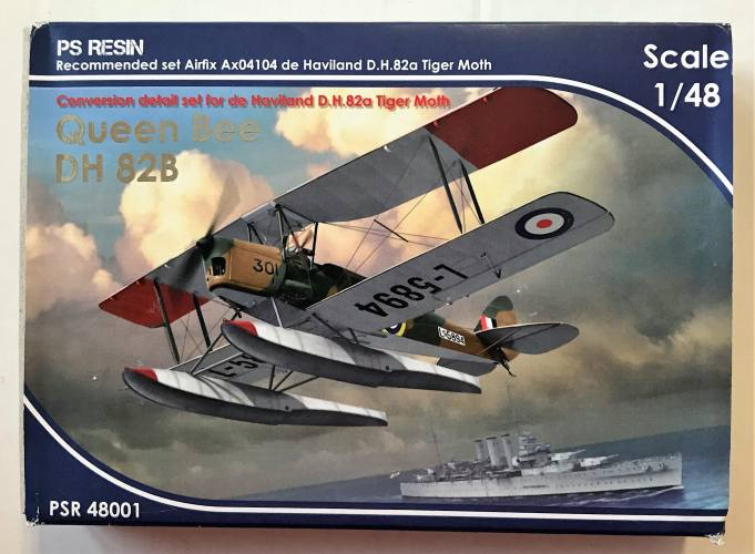 PS RESIN 1/48 48001 QUEEN BEE DH 82B CONVERSION SET