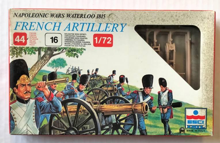 ESCI 1/72 234 NAPOLEONIC WARS WATERLOO 1815 FRENCH ARTILLERY