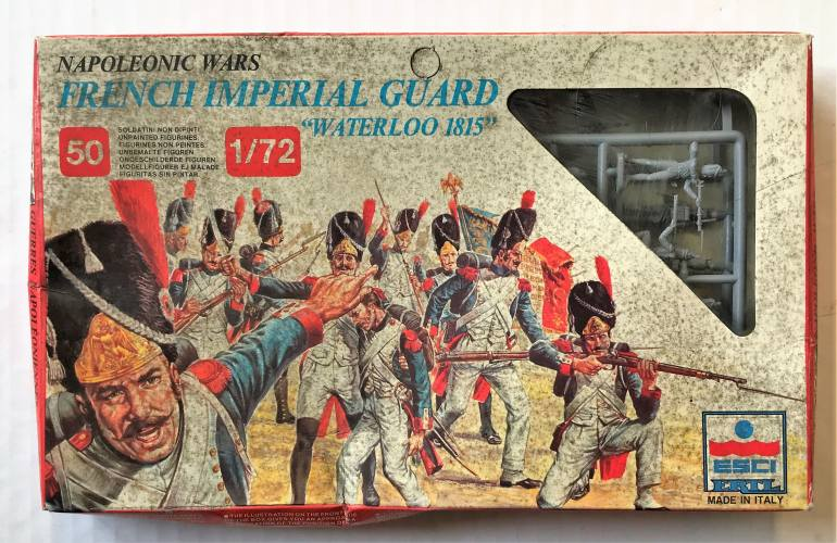 ESCI 1/72 214 NAPOLEONIC WARS WATERLOO 1815 FRENCH IMPERIAL GUARD