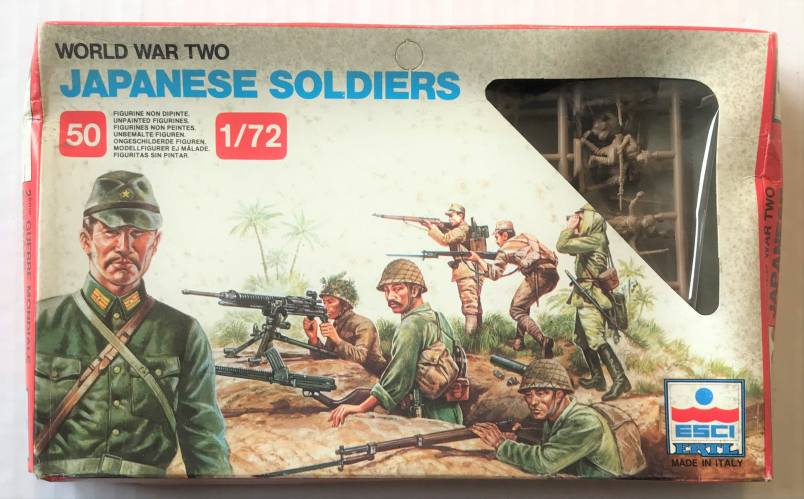 ESCI 1/72 204 WWII JAPANESE SOLDIERS