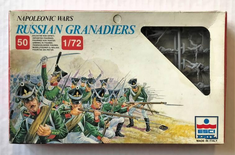 ESCI 1/72 236 NAPOLEONIC WARS RUSSIAN GRENADIERS
