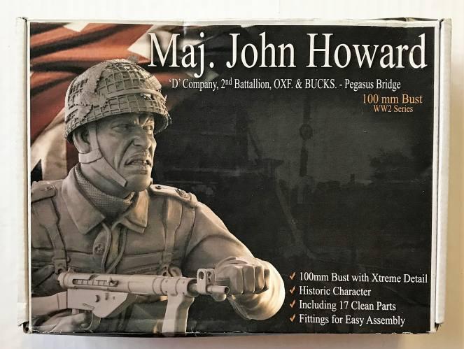 RP MODELS 100MM MAJ. JOHN HOWARD - D COMPANY 2ND BATALLION OXF   BUCKS - PEGASUS BRIDGE