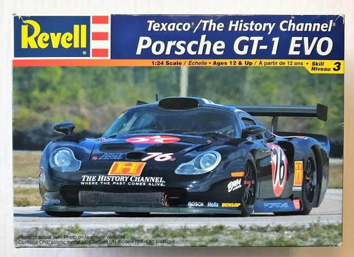 REVELL 1/24 2177 TEXACO/ THE HISTORY CHANNEL PORSCHE GT-1 EVO