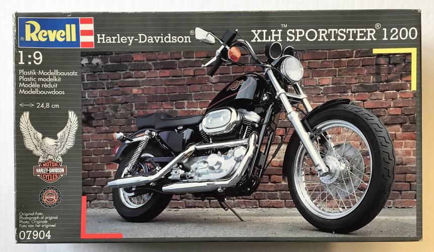 REVELL 1/9 07904 HARLEY-DAVIDSON XLH SPORTSTER 1200