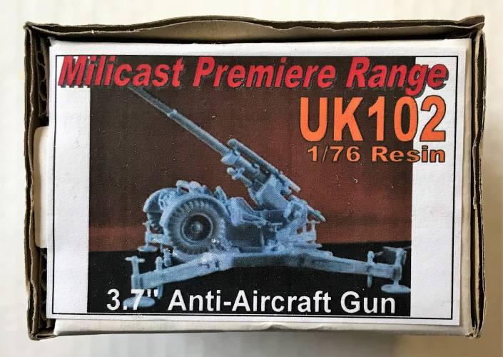 MILICAST  1/76 UK102 3.7 INCH ANTI-AIRCRAFT GUN