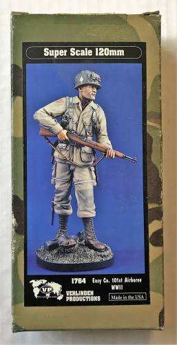 VERLINDEN PRODUCTIONS 120MM 1764 EASY CO. 101ST AIRBORNE WWII