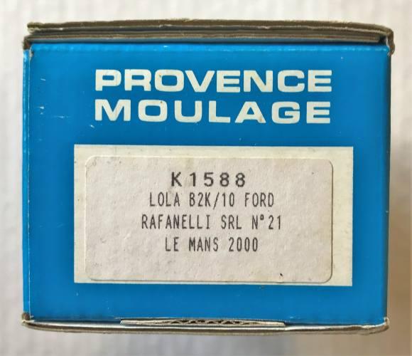 PROVENCE MOULAGE  K1588 LOLA B2K/10 FORD RAFANELLI SRL  21 LE MANS 2000