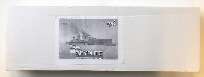 COMBRIG 1/350 3537 SMS SEYDLITZ BATTLECRUISER 1913
