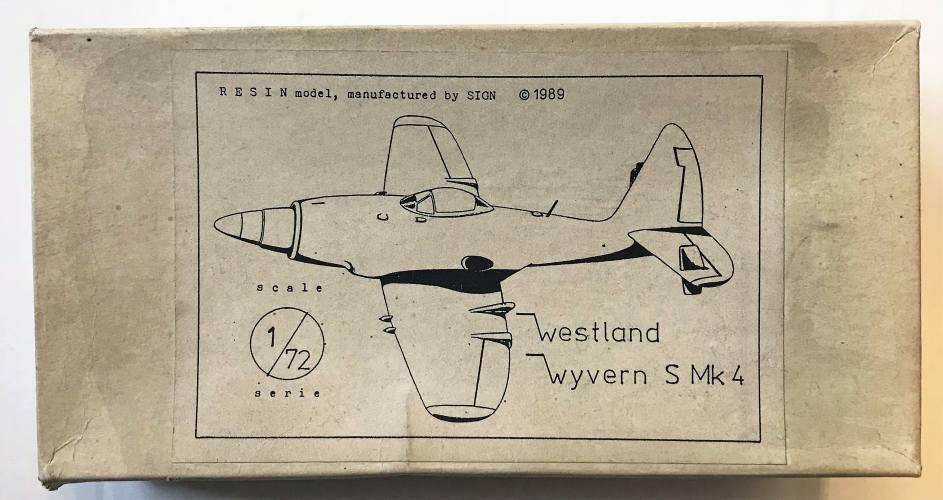 SIGN 1/72 WESTLAND WYVERN S MK.4