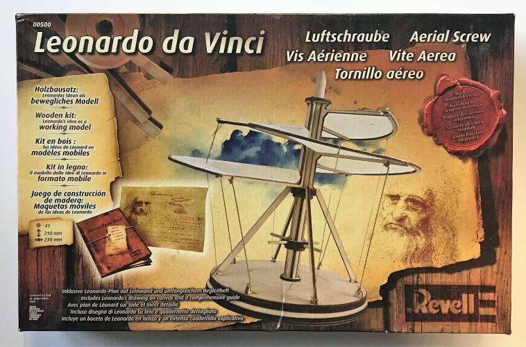 REVELL  00500 LEONARDO DA VINCI AERIAL SCREW